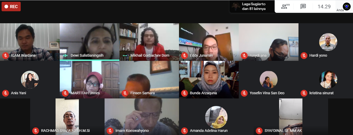 Diskusi Online Webinar 3